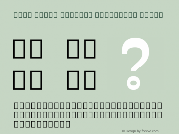 Noto Serif Myanmar Condensed Black Version 2.001; ttfautohint (v1.8.2)图片样张