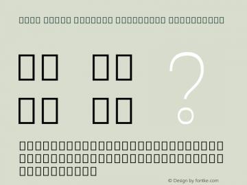 Noto Serif Myanmar Condensed ExtraLight Version 2.001; ttfautohint (v1.8.2)图片样张