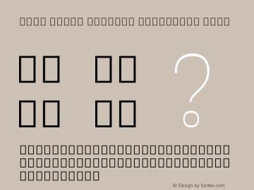 Noto Serif Myanmar Condensed Thin Version 2.001; ttfautohint (v1.8.2)图片样张