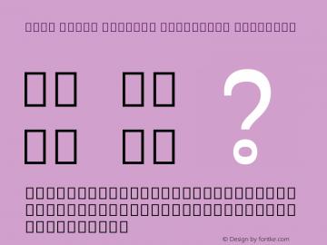 Noto Serif Myanmar Condensed SemiBold Version 2.001; ttfautohint (v1.8.2)图片样张