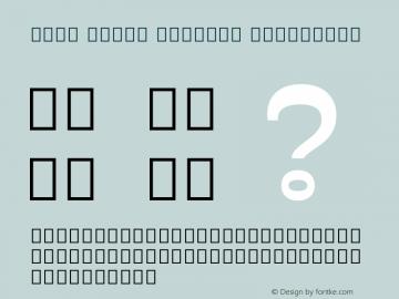 Noto Serif Myanmar ExtraBold Version 2.001; ttfautohint (v1.8.2)图片样张
