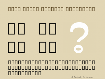 Noto Serif Myanmar ExtraBold Version 2.001图片样张