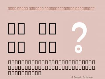 Noto Serif Myanmar ExtraCondensed ExtraBold Version 2.001; ttfautohint (v1.8.2)图片样张