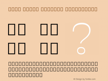 Noto Serif Myanmar ExtraLight Version 2.001; ttfautohint (v1.8.2)图片样张