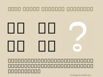 Noto Serif Myanmar SemiBold Version 2.001; ttfautohint (v1.8.2)图片样张