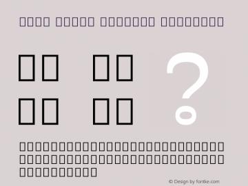 Noto Serif Myanmar SemiBold Version 2.001图片样张