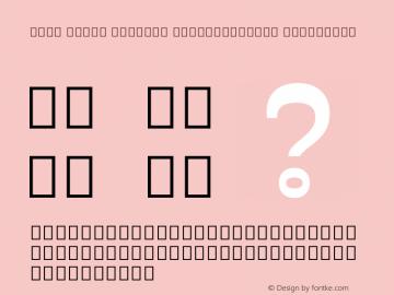 Noto Serif Myanmar SemiCondensed ExtraBold Version 2.001; ttfautohint (v1.8.2)图片样张