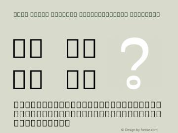 Noto Serif Myanmar SemiCondensed SemiBold Version 2.001; ttfautohint (v1.8.2)图片样张