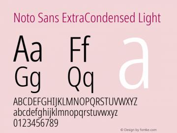 Noto Sans ExtraCondensed Light Version 2.001;GOOG;noto-source:20181019:f8f3770;ttfautohint (v1.8.2)图片样张