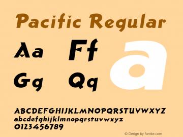 Pacific Regular Version 001.000图片样张