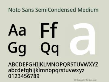 Noto Sans SemiCondensed Medium Version 2.001;GOOG;noto-source:20181019:f8f3770;ttfautohint (v1.8.2)图片样张