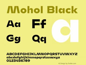 Mohol Black Version 1.200图片样张