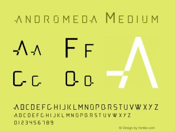 andromeda Version 001.000图片样张