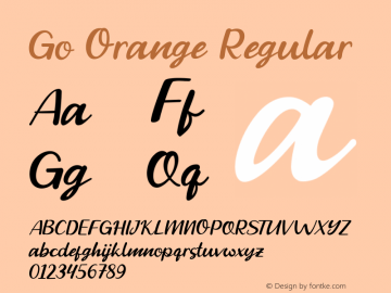 Go Orange Version 1.000图片样张