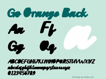 GoOrangeBack 001.001图片样张