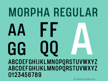 Morpha-Regular 001.000图片样张