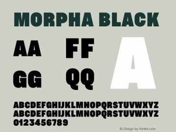 Morpha-Black 001.000图片样张