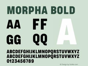 Morpha-Bold 001.000图片样张