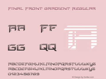 Final Front Gradient Version 1.0; 2019图片样张