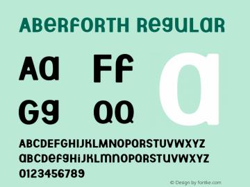 Aberforth Version 1.000图片样张