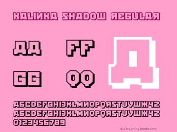 Kalinka Shadow Regular Version 1.000图片样张