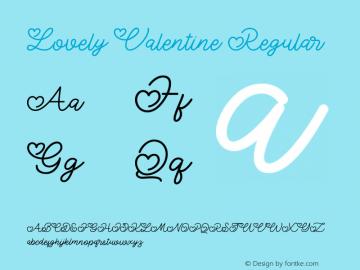 LovelyValentine Version 1.000图片样张