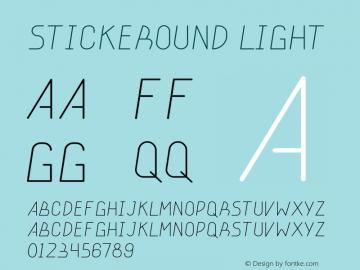 stickeround light Version 001.000图片样张