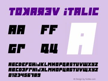 Tokarev Italic Version 1.000图片样张