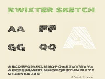 Kwixter Sketch Version 0.00 January 11, 2019图片样张