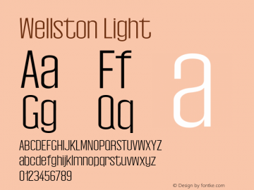 Wellston Light 0.1.0图片样张
