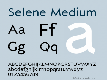 Selene-Medium 1.650图片样张