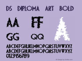 DS Diploma Art Bold 1999; 1.0, initial release图片样张