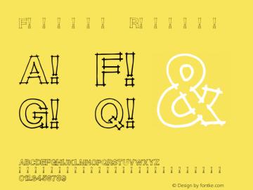 Flunder Regular Unknown Font Sample