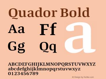 Quador-SemiBold 1.000图片样张