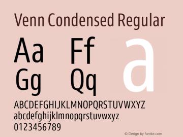 Venn-CondensedRegular Version 1.000图片样张