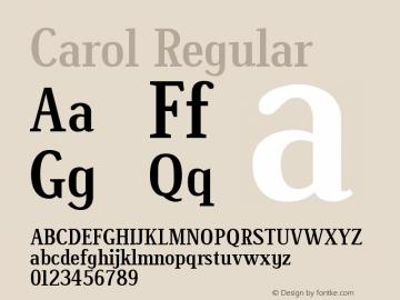 Carol Version 1.00图片样张