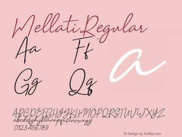Mellati Version 1.000图片样张