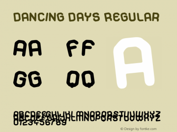 Dancing Days 图片样张
