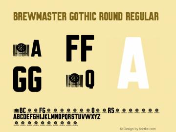 Brewmaster Gothic Round Version 1.002 March 12, 2019图片样张