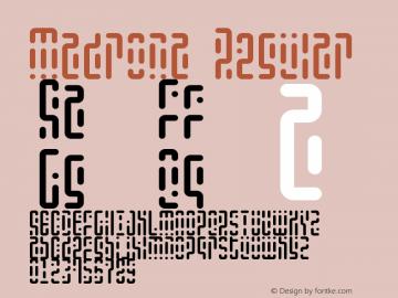 Madrona Regular Version 1.0图片样张