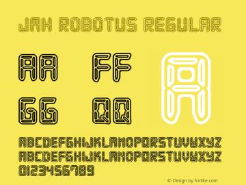 JMHRobotus-Regular Version 1.001图片样张