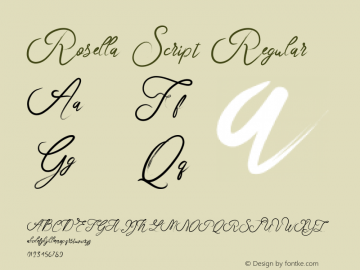 RosellaScript Version 1.000图片样张