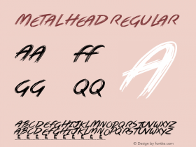 Metal Head Version 1.00 March 21, 2019, initial release图片样张