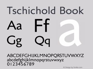 Tschichold-Book Version 1.00图片样张