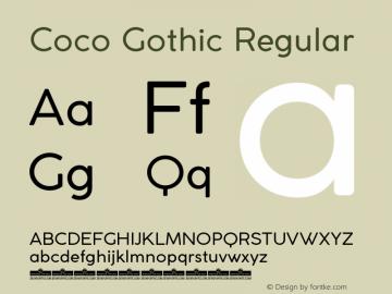 CocoGothic Version 3.001图片样张