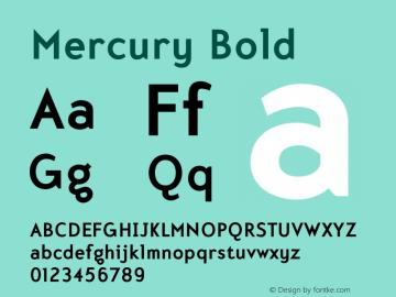 Mercury-Bold 001.000图片样张