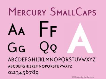 Mercury-SmallCaps 001.000图片样张