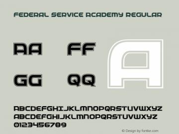 Federal Service Academy Version 2.0; 2019圖片樣張
