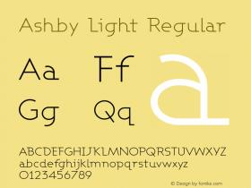 AshbyLight 1.0图片样张