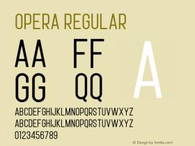 Opera Version 1.002;Fontself Maker 3.0.1图片样张